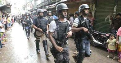 ঢাকায় যৌথ বাহিনীর অভিযানে খতম ৯জেএমবি জঙ্গি